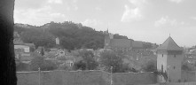 View of Brașov from the Bottom of the Hill