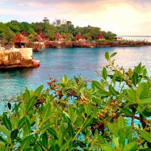 Negril at sunset